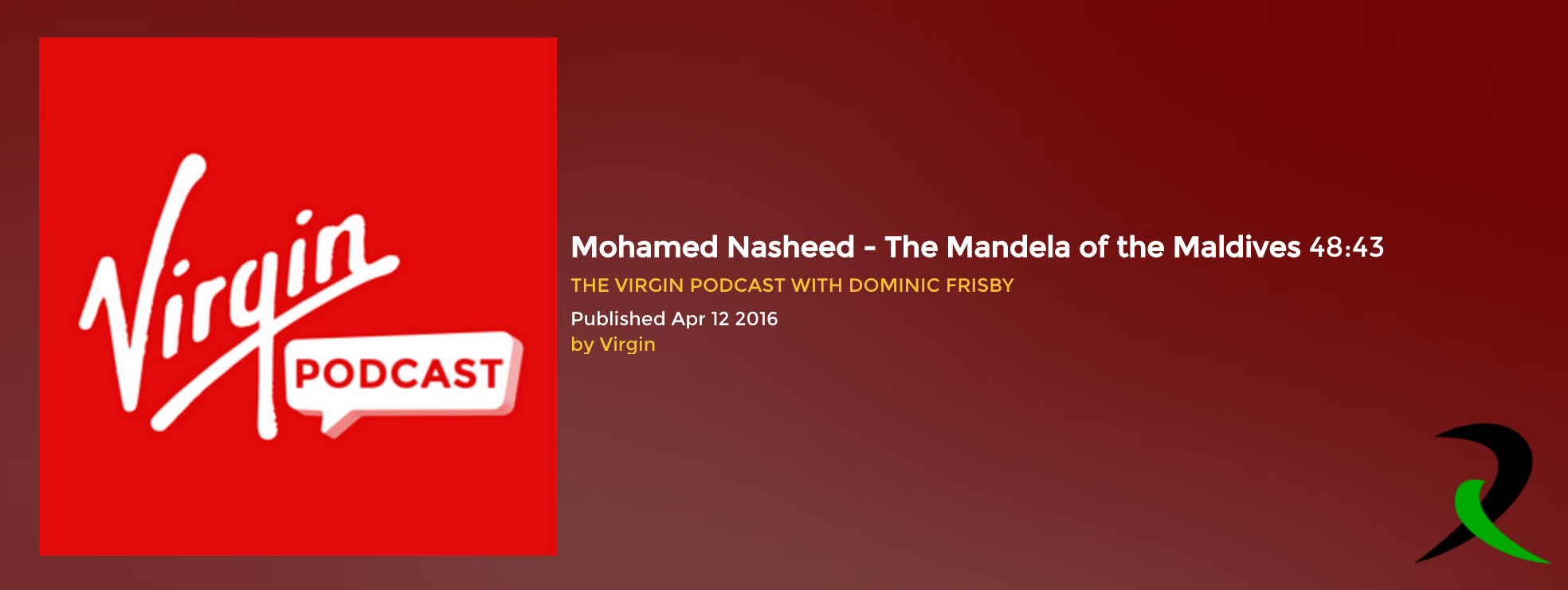 The Virgin Podcast with Dominic Frisby 2016.04.12 Mohamed Nasheed WEB MP3-DhiRLS